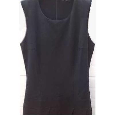 DRESS-TUBINO-COTONE-COLORE-NERO-BALZE-STILE-MODA-TENDENZA-ELEGANZA-COCKTAIL-SHOPPING-