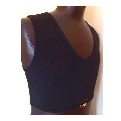 Top sport cotone stretch color nero Pride - Tpd 003