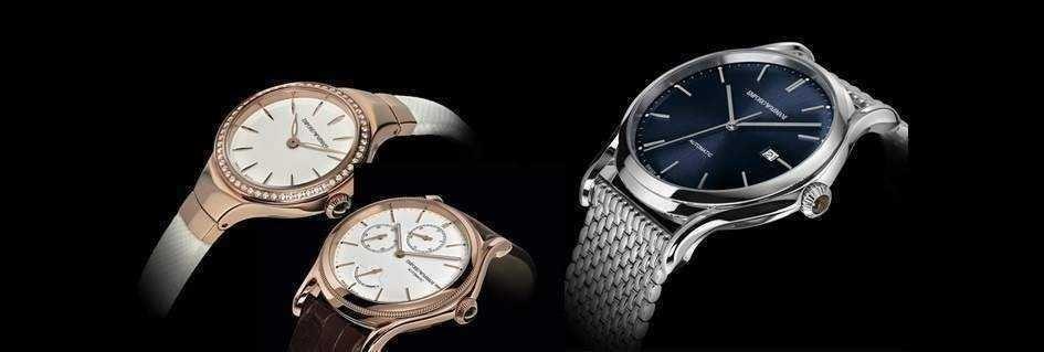 Collezione esclusiva di orologi unisex dal design e caratteristiche tecniche innovative by Emporio Armani