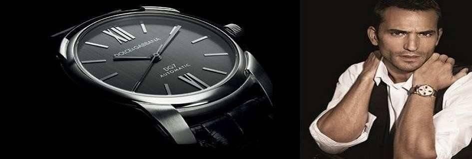 Collezione fashion orologi uomo di tendenza dal design sofisticato realizzati con materiali innovativi by Dolce&Gabbana.