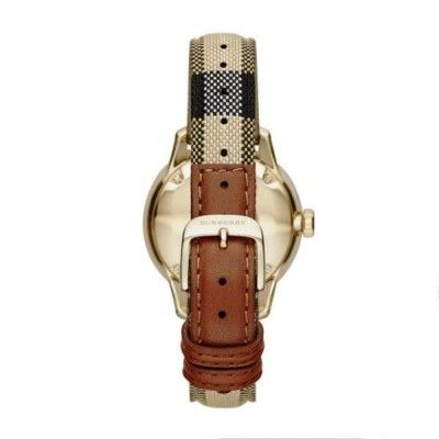 Orologio elegante donna Burberry The New Round - BU10104-Italianfashionglam