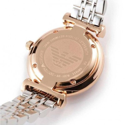 Orologio luxury Emporio armani donna Gianni T Bar AR1926-Italianfashionglam