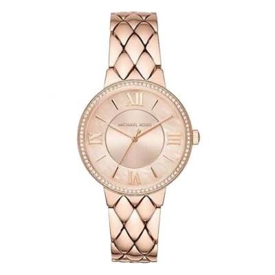 Orologio elegante Michael Kors gold rose donna Courtney MK3705-Italianfashionglam