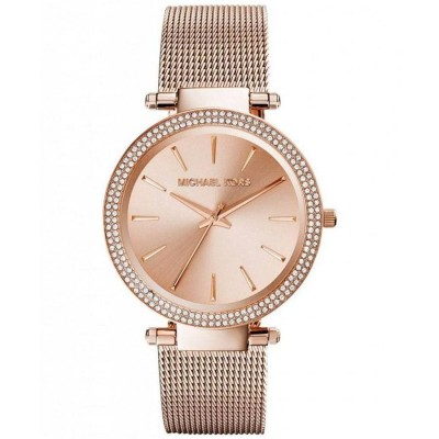 Orologio fashion Michael Kors gold rose donna Darci MK3369-Italianfashionglam
