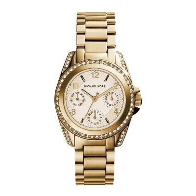 Cronografo glamour Michael Kors gold donna Mini Blair MK5639-Italianfashionglam