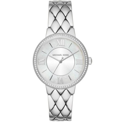 Orologio elegante Michael Kors silver donna Courtney MK3703-Italianfashionglam