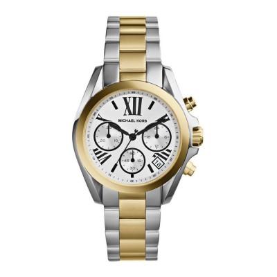 Cronografo fashion Michael Kors donna Bradshaw silver MK5912 Italianfashionglam