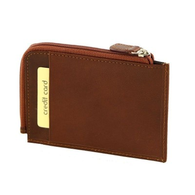 Porta carte di credito luxury in vera pelle Noè IFG 07162 Italianfashionglam