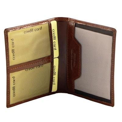 Porta carte di credito luxury in vera pelle Liù IFG 07102 Italianfashionglam