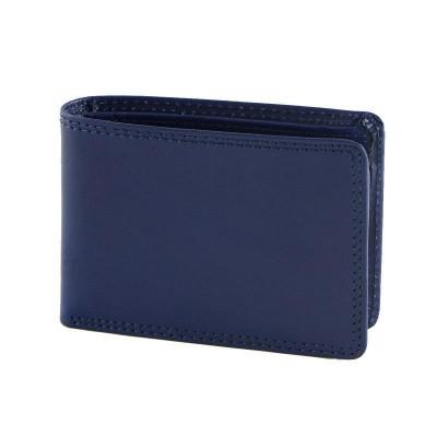 Portafogli elegante da uomo in vera pelle Serse IFG 07024 blu Italianfashionglam
