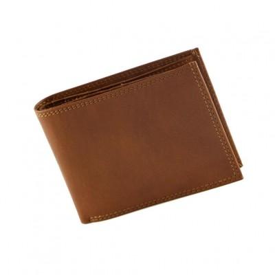 Portafogli fashion da uomo in vera pelle Kiko IFG 07023 marrone Italianfashionglam