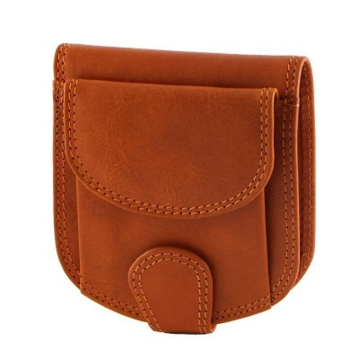 Portafogli fashion da uomo in vera pelle Sal IFG 07018 arancio Italianfashionglam