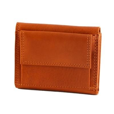 Portafogli da uomo classic in vera pelle Chris IFG 07017 arancio Italianfashionglam