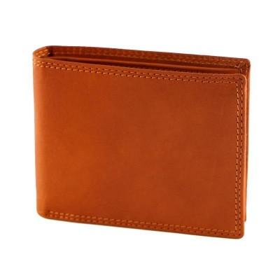Portafogli da uomo classic in vera pelle Sting IFG 07016 arancio Italianfashionglam