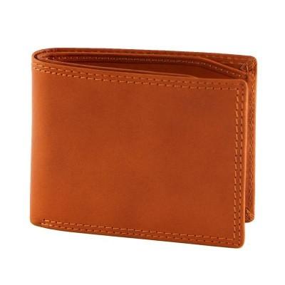 Portafogli luxury da uomo in vera pelle Stenys IFG 07007 arancio Italianfashionglam