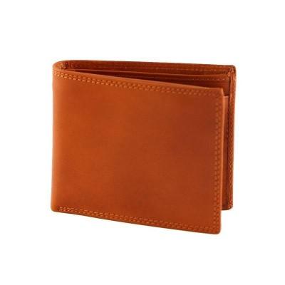 Portafogli classico da uomo in vera pelle Tino IFG 07006 arancio Italianfashionglam