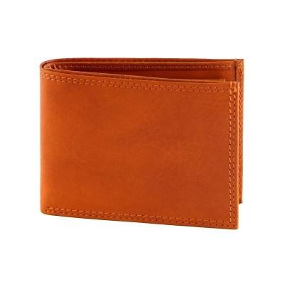 Portafogli da uomo in vera pelle classic Miura IFG 07002 arancio Italianfashionglam