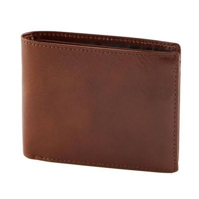 Portafogli da uomo classic in vera pelle marrone Roxy IFG 07054 Italianfashionglam