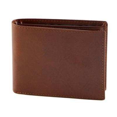 Portafogli da uomo luxury in vera pelle marrone Randy IFG 07050 Italianfashionglam