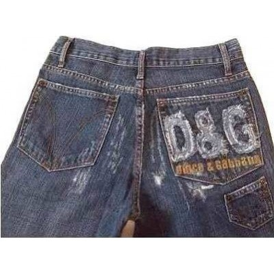 Blue jeans uomo denim look vintage D&G - Bju 013