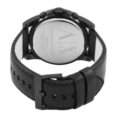 Cronografo Armani Exchange Outerbanks black da uomo AX2098 Italianfashionglam