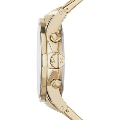 Cronografo Armani Exchange Outerbanks gold uomo AX2099 Italianfashionglam
