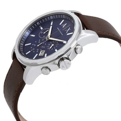 Cronografo Armani Exchange Outerbanks blue da uomo AX2501 Italianfashionglam