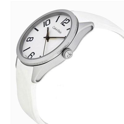 Calvin Klein orologio casual white unisex Color K5E511K2 Italiangashionglam