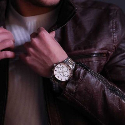 Emporio Armani cronografo luxury uomo Giovanni AR11209 Italianfashionglam