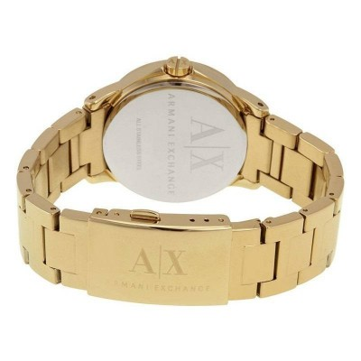 Armani Exchange Lady Banks gold orologio donna AX4321 Italianfashionglam