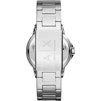 Armani Exchange Lady Banks silver orologio donna AX4320 Italianfashionglam