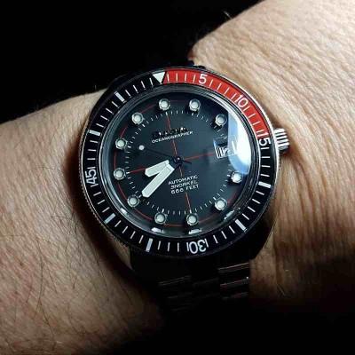 Bulova Oceanographer E.- Orologio automatic uomo 96B320 - Italianfashionglam - d