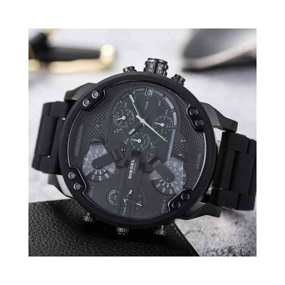 Diesel cronografo fashion da uomo Mr Daddy 2.0 black DZ7396-Italianfashionglam - s