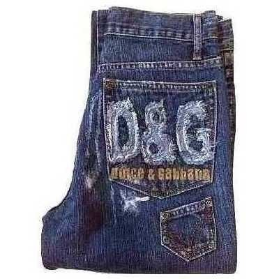 Blue jeans uomo denim look vintage D&G - Bju 013 - Italianfashionglam