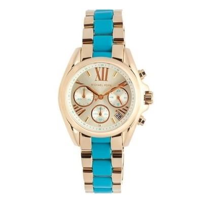 Cronografo luxury Michael Kors donna Bradshaw gold MK5908 Italianfashionglam