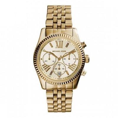 Cronografo luxury Michael Kors gold donna Lexington MK5556-Italianfashionglam