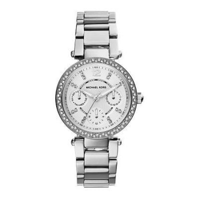 Orologio luxury Michael Kors donna Parker silver MK5615-Italianfashionglam