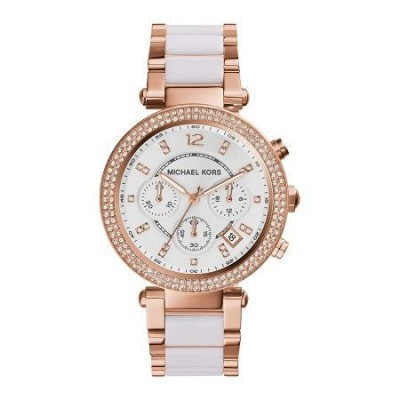 Cronografo glamour Michael Kors donna Parker gold MK5774 Italianfashionglam