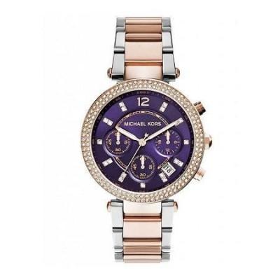 Cronografo luxury Michael Kors donna Parker gold MK6108 Italianfashionglam