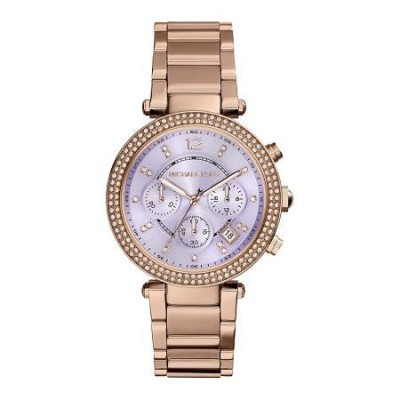 Cronografo luxury Michael Kors donna gold Parker MK6169 Italianfashionglam