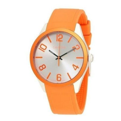 Calvin Klein orologio casual orange unisex Color K5E51YY6 Italianfashionglam
