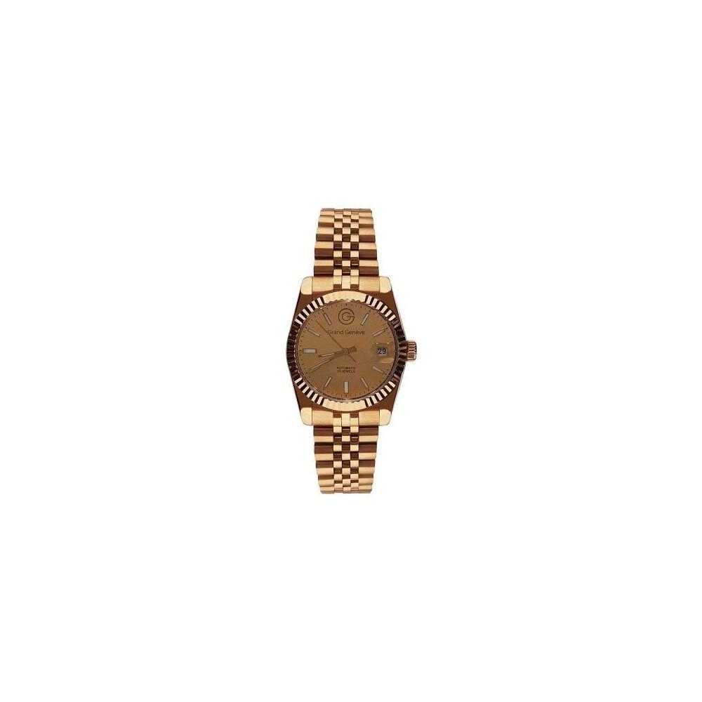 Orologio automatico unisex dorato Grand Geneve BP240170 - Italianfashionglam