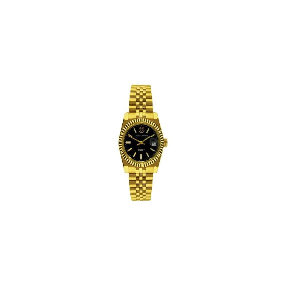Orologio unisex automatico oro Grand Geneve BP240171 - Italianfashionglam