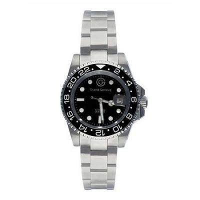 Orologio automatico da uomo in acciaio Grand Geneva BP240156 - Italianfashionglam - h