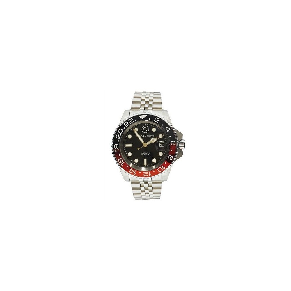 Orologio automatico chic da uomo Grand Geneva BP240157 - Italianfashionglam