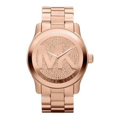Orologio jewels Michael Kors unisex gold Runway MK5661-Italianfashionglam