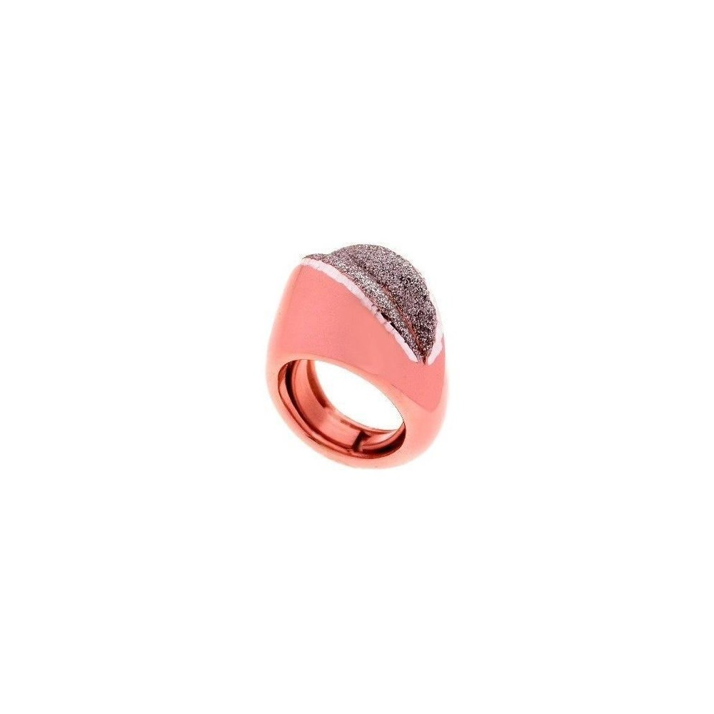Anello chic donna in argento placcato oro rosa AN 003- Italianfashionglam