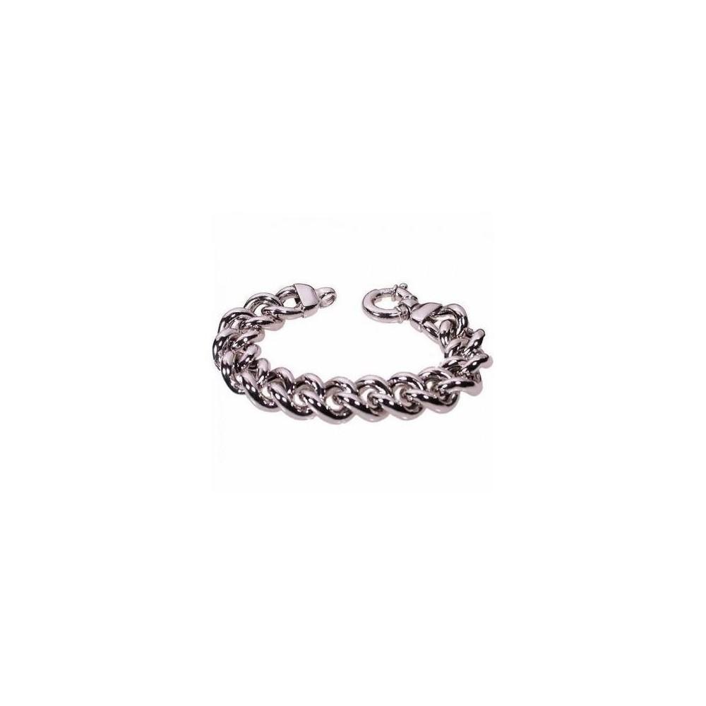 Bracciale glamour da donna in argento grumetta BR 037 Italianfashionglam