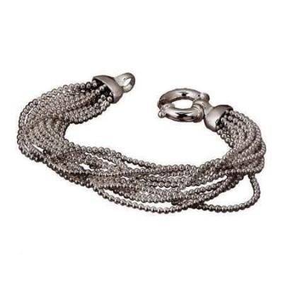 Bracciale luxury donna fili e sfere in argento BR 005 Italianfashionglam