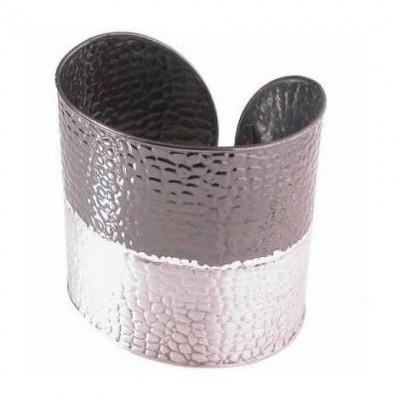 Bracciale minimal donna alla schiava in argento BR 002 Italianfashionglam